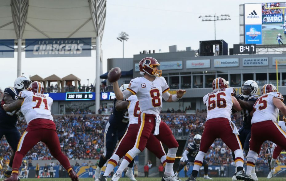 Kirk Cousins says he expects to be a free agent (Stephen Dunn/Getty Images file photo)