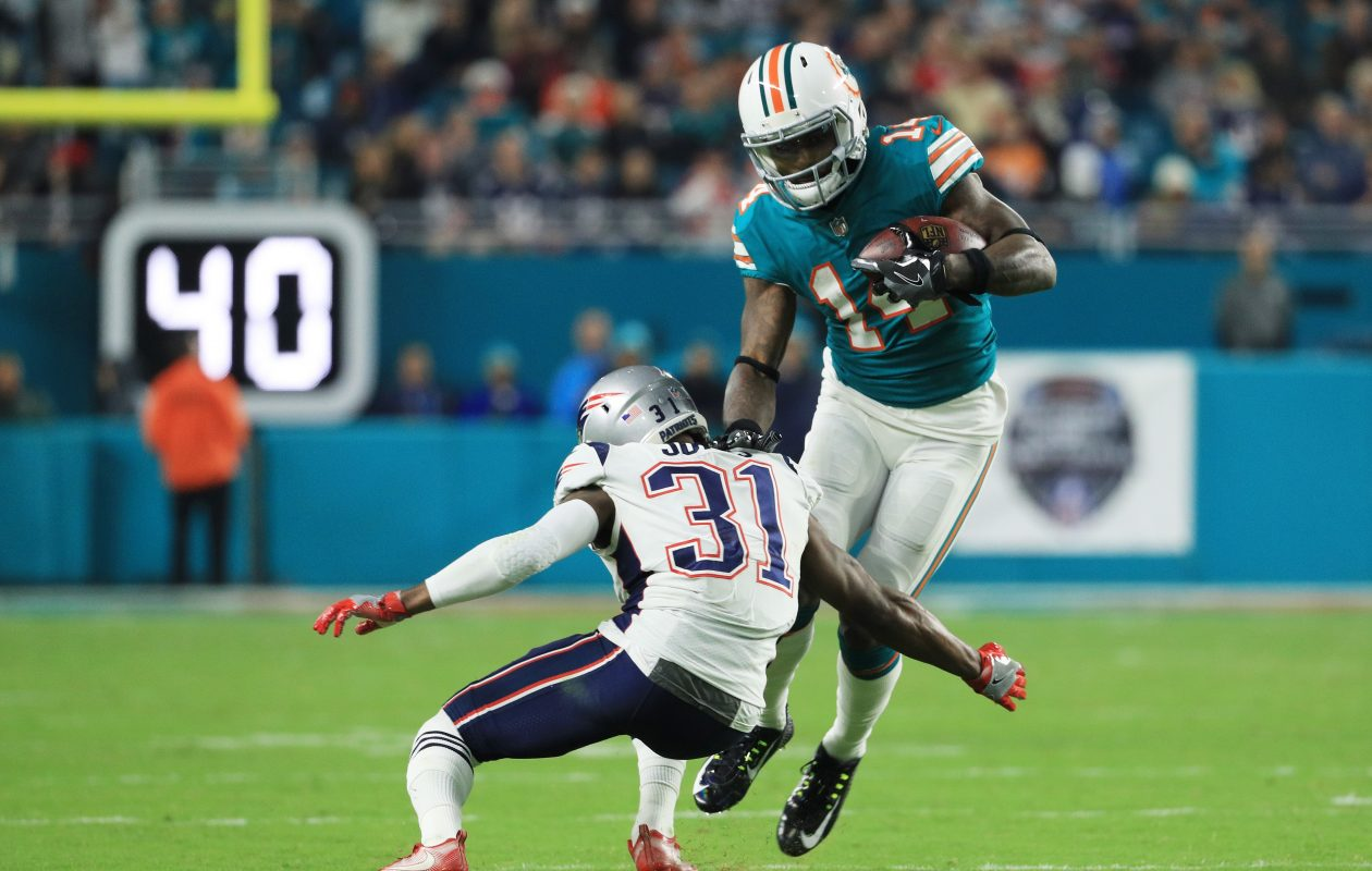 The Buffalo Bills face the Miami Dolphins, coming off Monday night's 27-20 defeat of the New England Patriots. (Getty Images)
