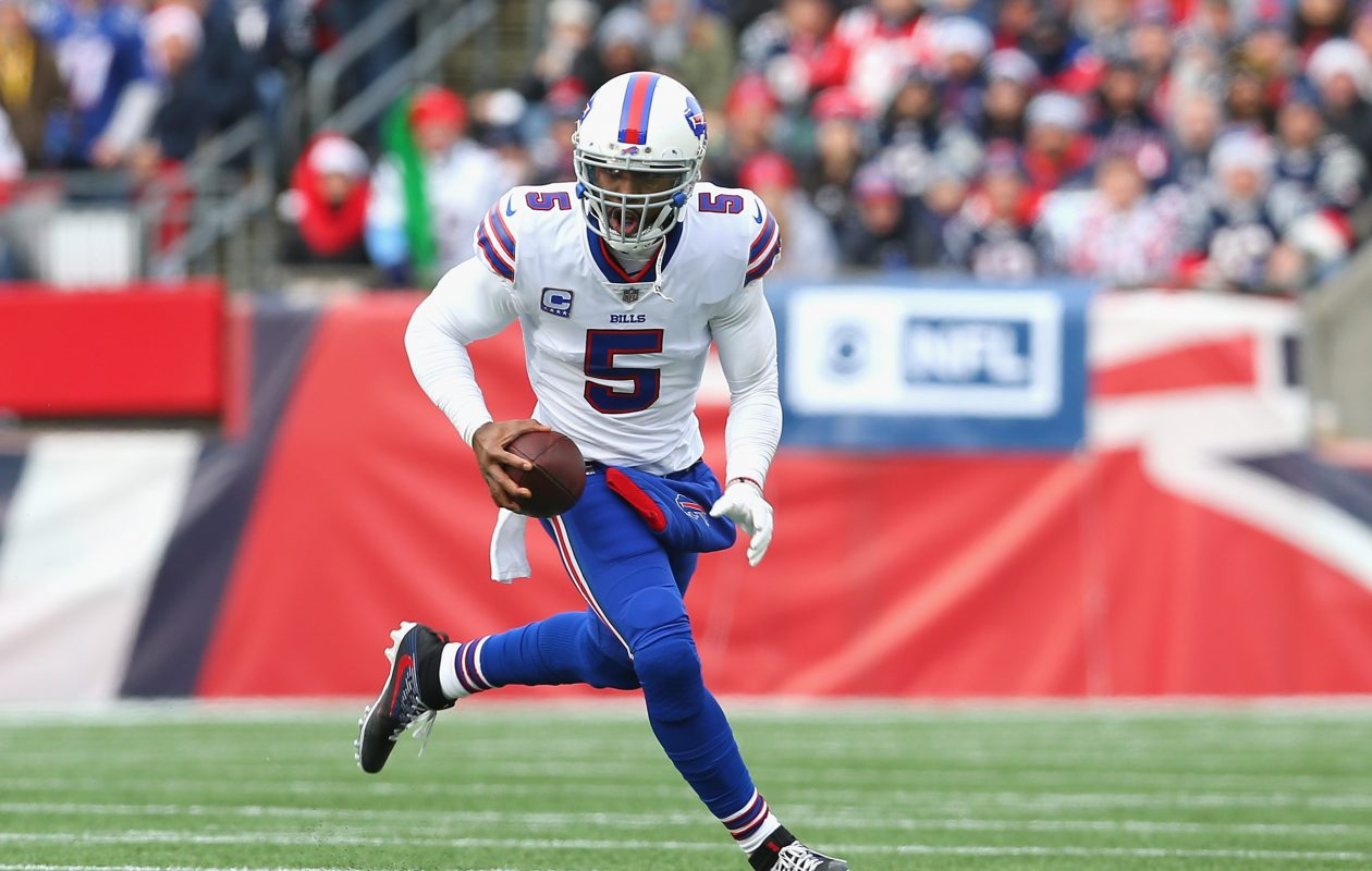 Former Bills quarterback Tyrod Taylor (Getty Images)