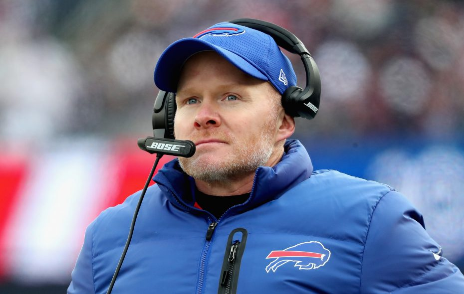 "Bills coach Sean McDermott says ""football is important to the people"" in Buffalo. (Getty Images)"