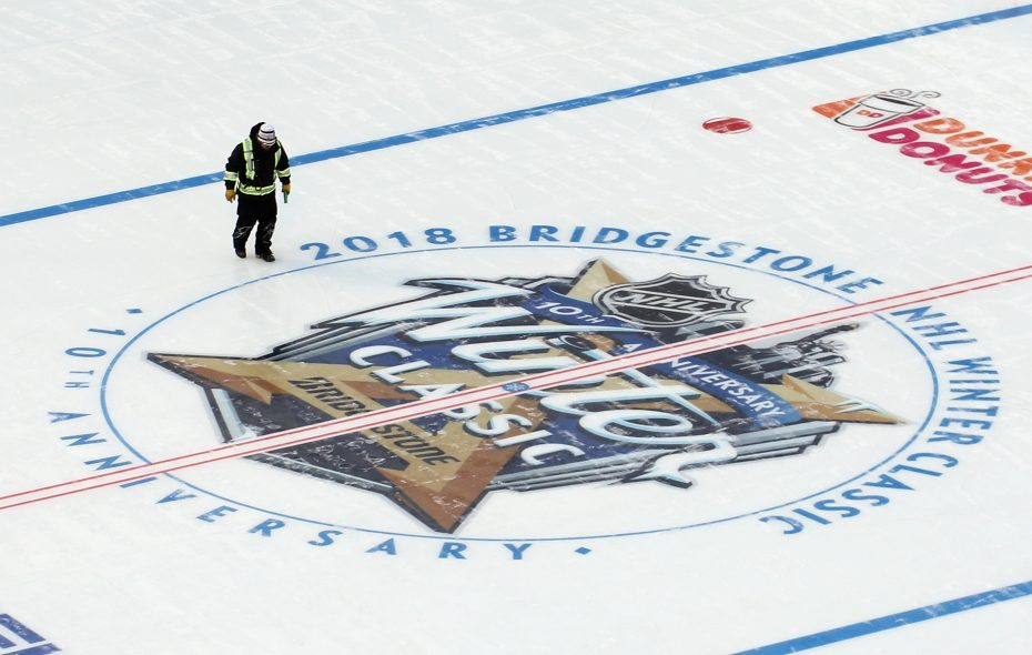 This year's Winter Classic will feature the Boston Bruins at the Chicago Blackhawks in Notre Dame Stadium, South Bend, Ind. (Getty Images)