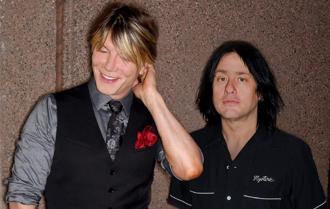 John Rzeznik and Robby Takac of the Goo Goo Dolls.