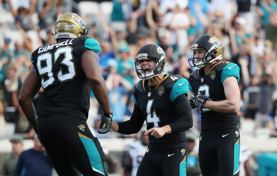 Jacksonville can clinch the AFC South division title with a win or tie or a Tennessee loss or tie. (Logan Bowles/Getty Images)