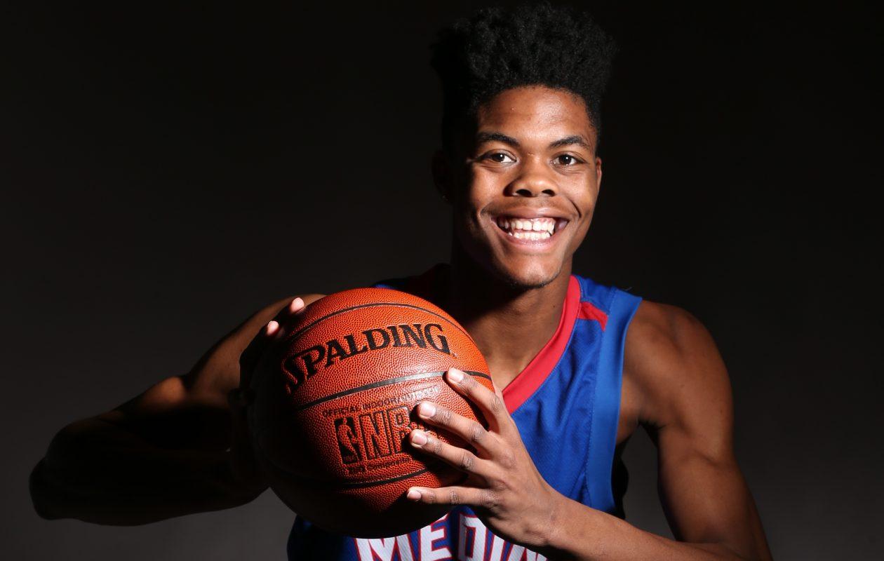 Jalin Cooper is enjoying his final season of basketball at Medina James P. McCoy/Buffalo News)