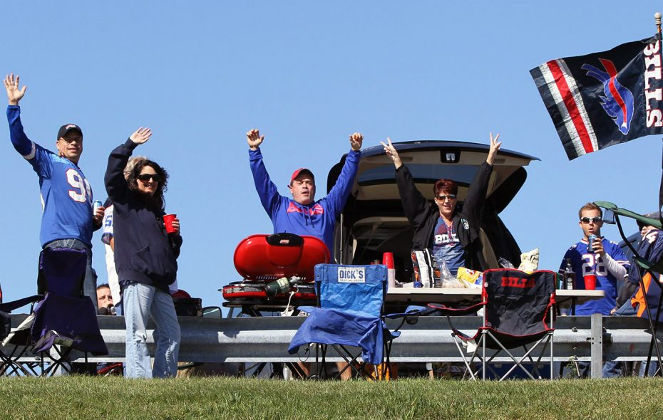 The forecast should give Bills fans reason to cheer Sunday. (James P. McCoy/News file photo)