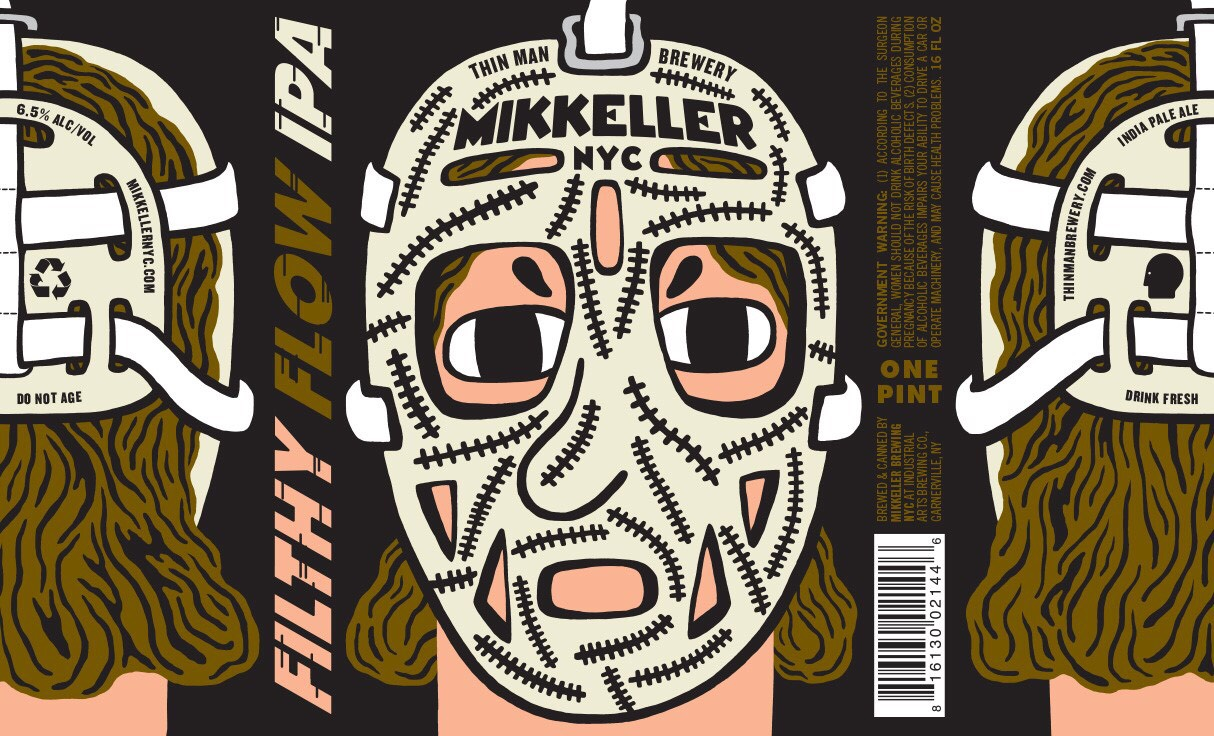 Thin Man Brewery on Elmwood Avenue will release a joint-effort beer with Mikkeller Brewing NYC for the Winter Classic. (via Thin Man)