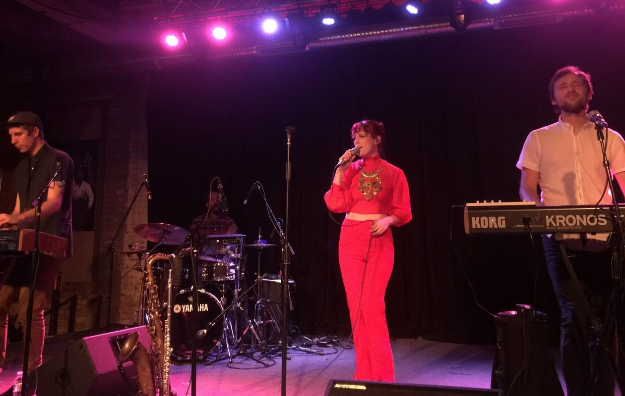 Up and coming trio Moonchild blew Jeff Miers' mind at Buffalo Iron Works in November. (Photo by Jeff Miers)