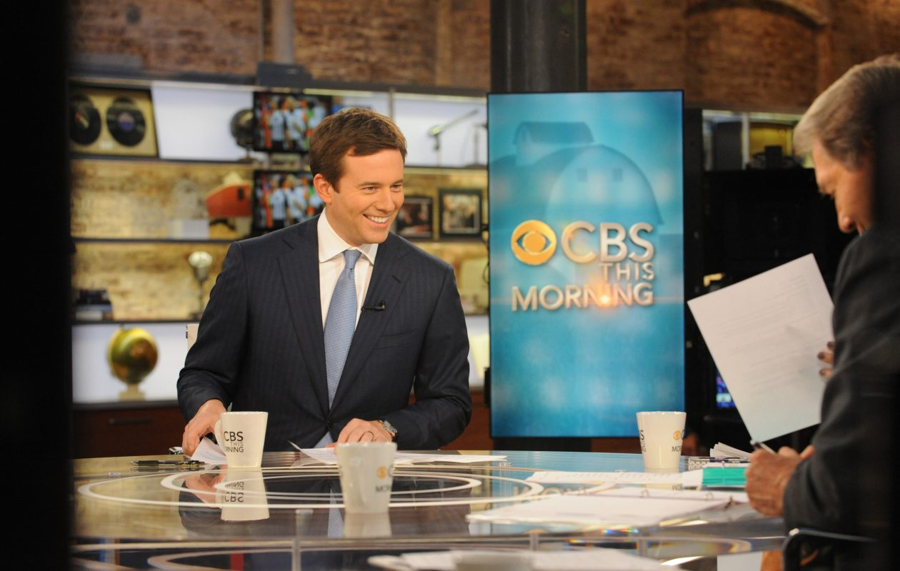 Jeff Glor, a Kenmore East grad, was named anchor of CBS Evening News in October. (CBS Broadcasting Inc.)