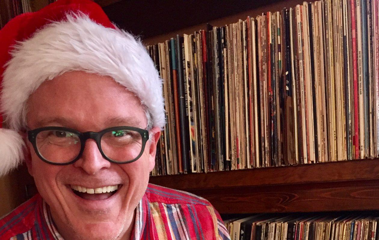 John Morris Russell has a Christmas music habit.