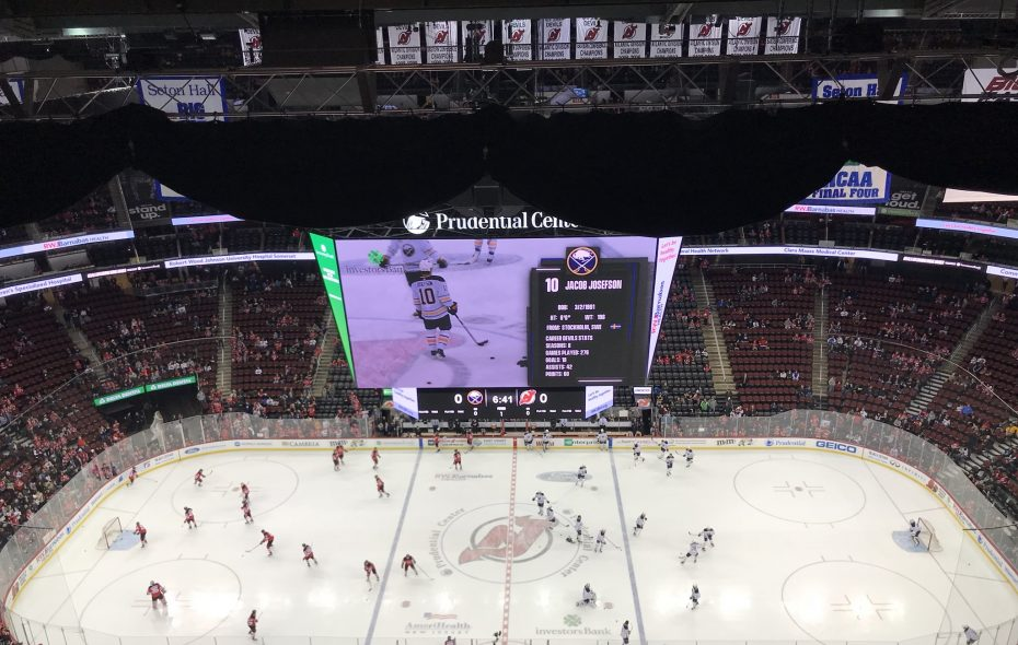 Live Coverage: Buffalo Sabres at New Jersey Devils