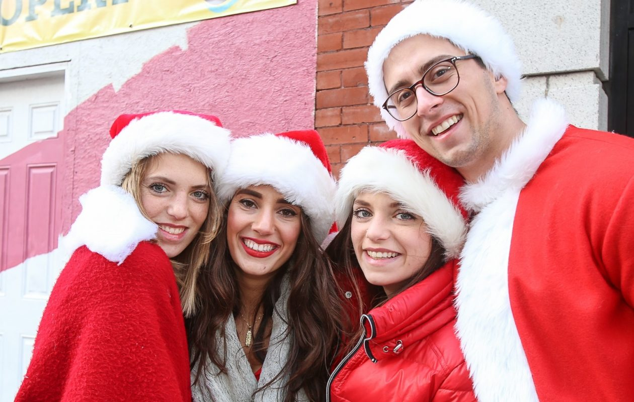 The Buffalo Santa Pub Crawl will roam Allentown on Saturday. (Meredith Forrest Kulwicki/Special to The News)