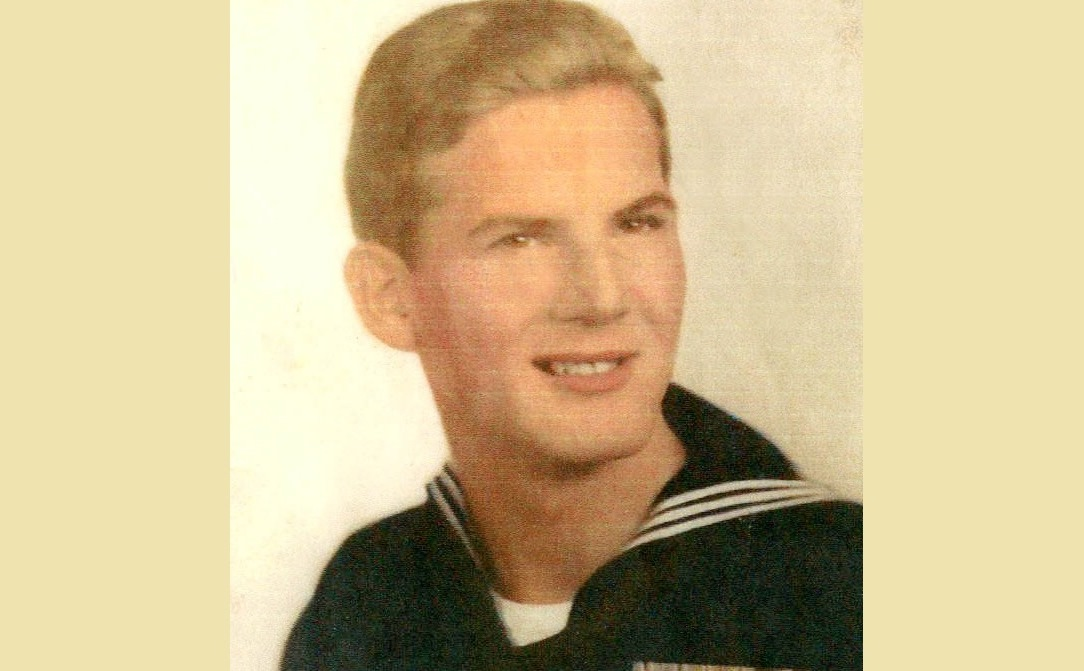 Sherwood Sarles served in the Navy in the South Pacific during World War II.