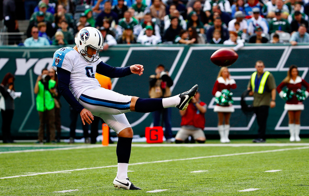 Titans punter Brett Kern (Getty Images)