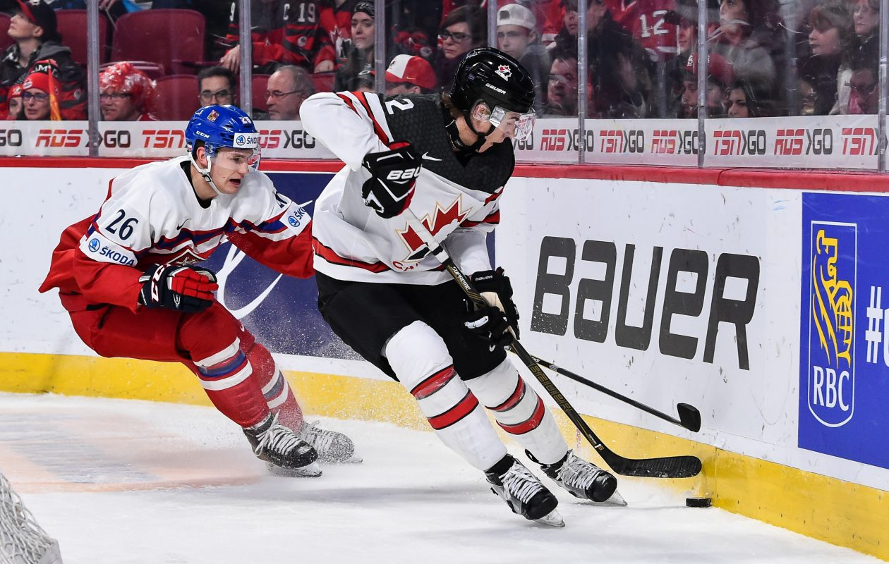 Team Canada's Jake Bean admits it took a while to clear his mind of last year's shootout loss to Team USA in the World Junior Championship gold-medal game. The Canadians have a chance to return the favor. (Getty Images file photo)