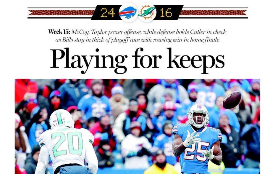 [BN] Blitz Week 15: Bills 24, Dolphins 16