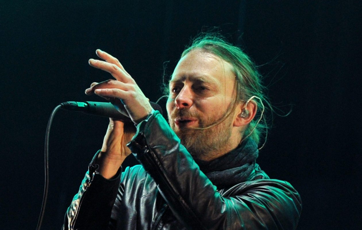 Thom Yorke of Radiohead.  (Getty Images)