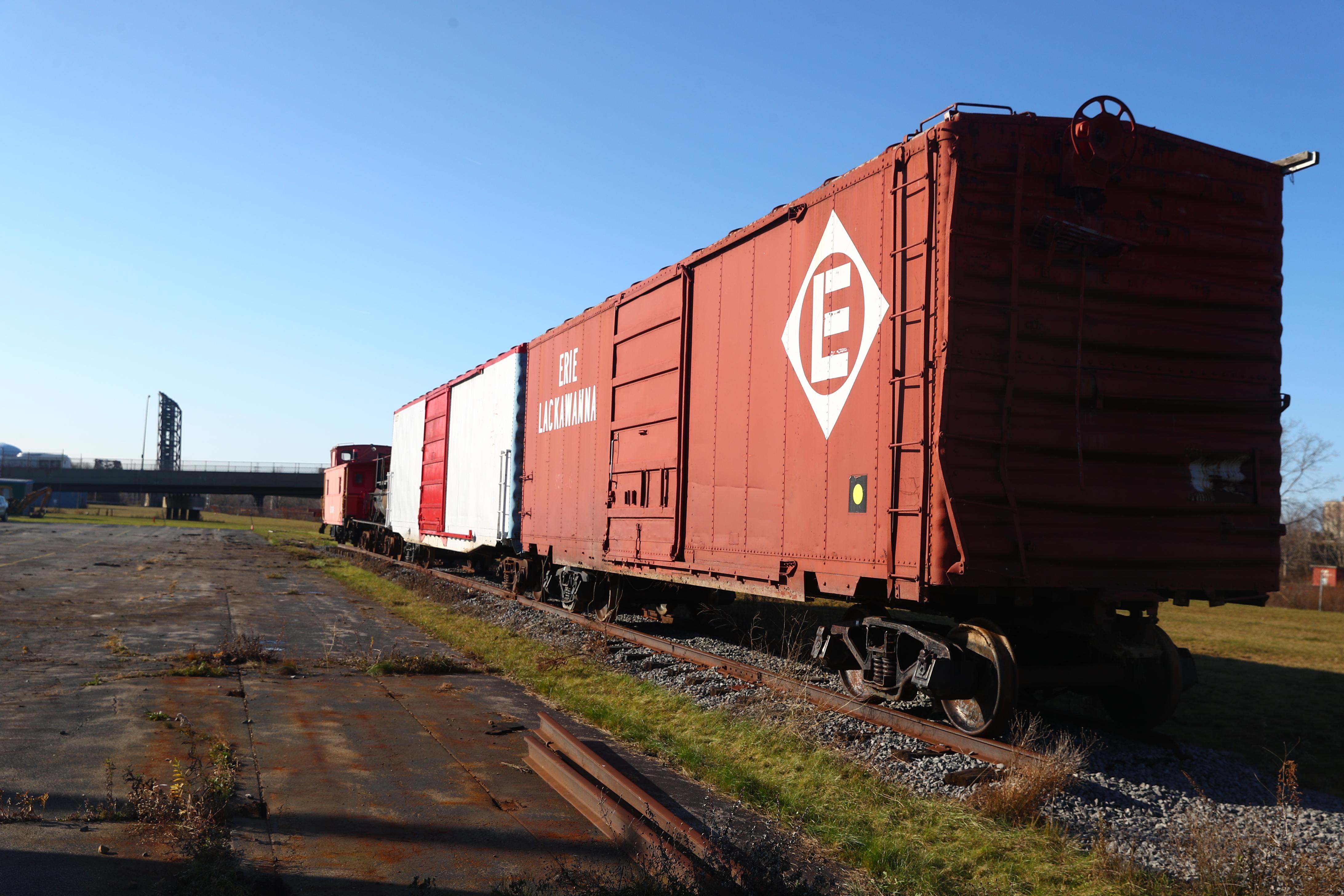 Buffalo Rail Historians Gain A Necessity Tracks And Freight Cars