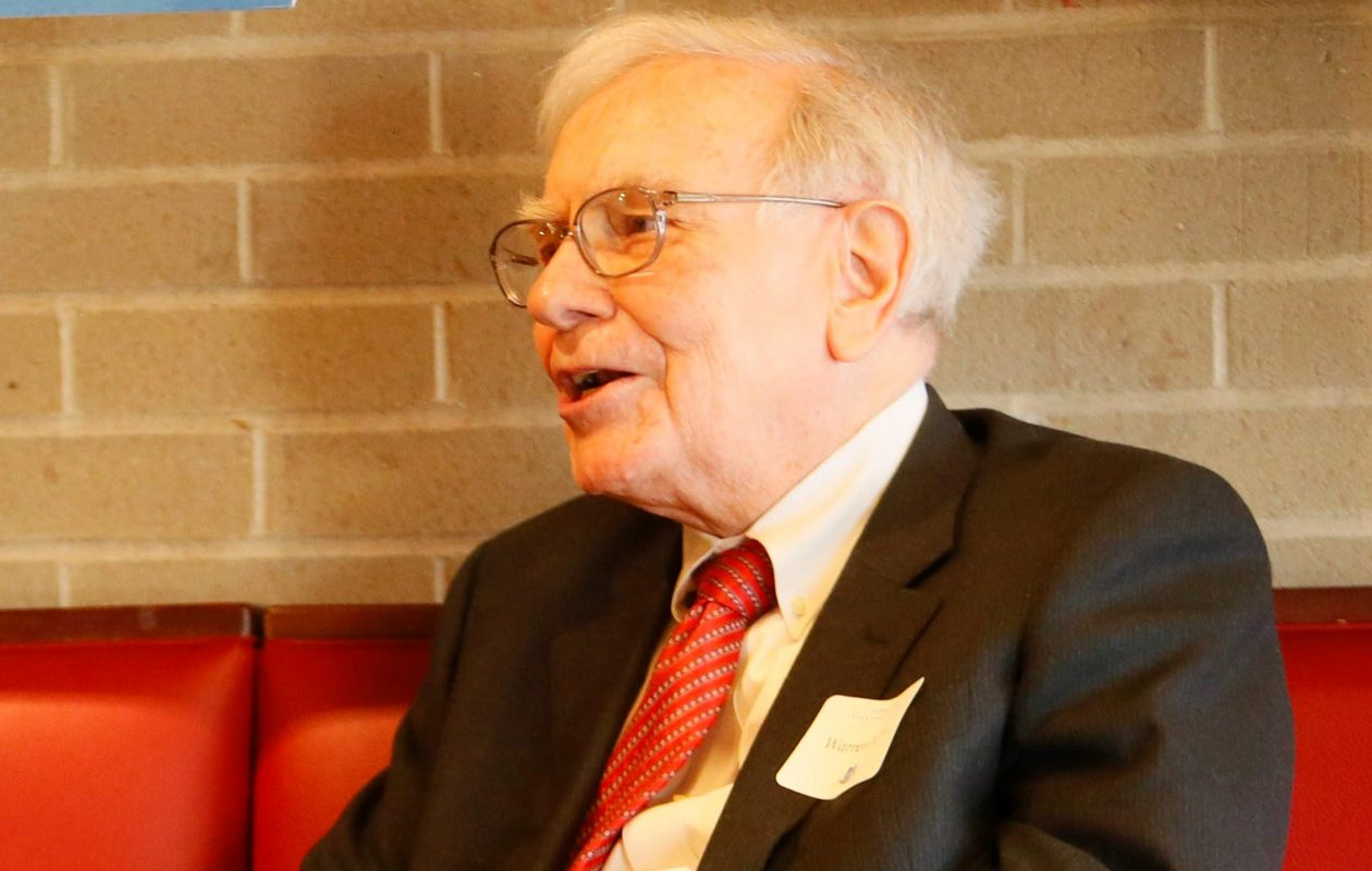 Warren Buffett.  (Derek Gee/Buffalo News file photo)