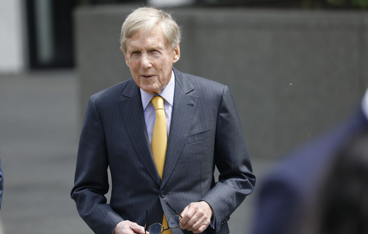 M&T Bank Chairman Robert Wilmers  died Saturday night at his home in New York City. (Derek Gee/Buffalo News file photo)