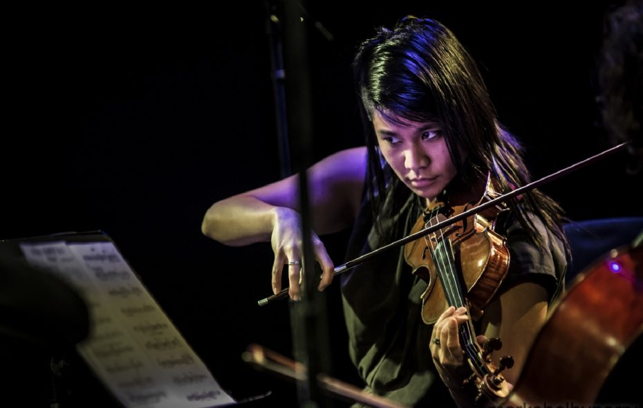 Yuki Numata Resnick, Buffalo String Works Artistic Director. (Photo by Mark Shelby Perry)