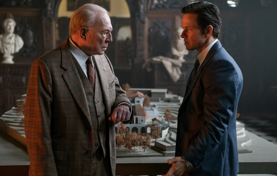 "Christopher Plummer, left, and Mark Wahlberg star in Ridley Scott's ""All the Money in the World."" (Photo credit: Giles Keyte)"