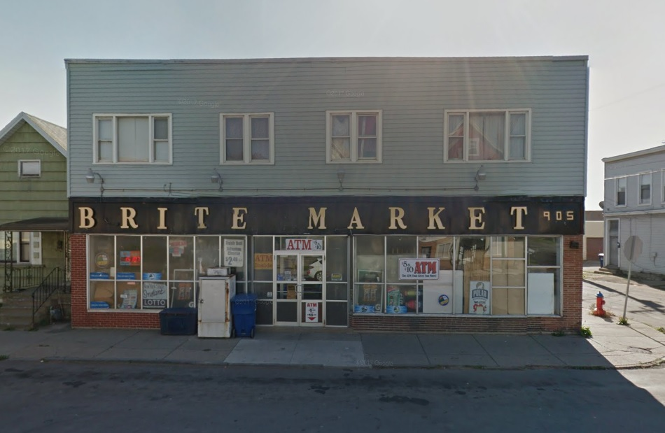 B-Rite Market 905 Clinton St., was robbed Thursday night. (Google Streetview)