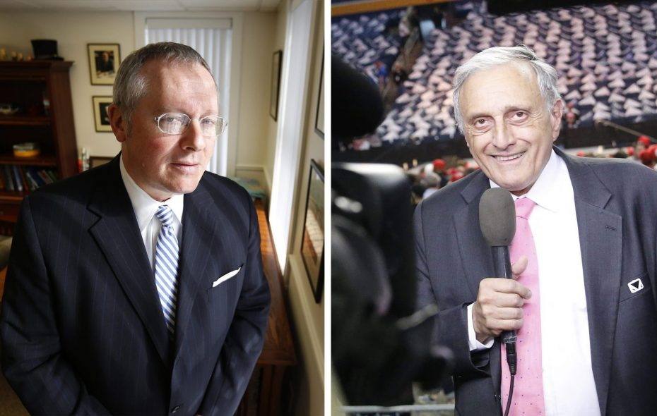 MIchael Caputo, left, and Carl Paladino, were accused of defamation in connection with the 2010 gubernatorial race. (News file photos)