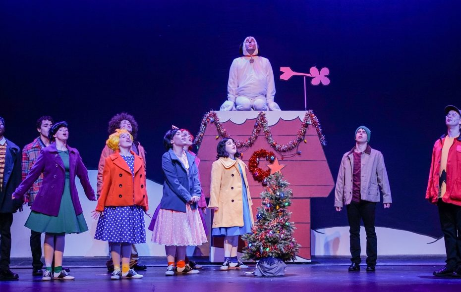 Peanuts Christmas Musical.Toy Brings Charlie Brown To Colorful Live Action Life The