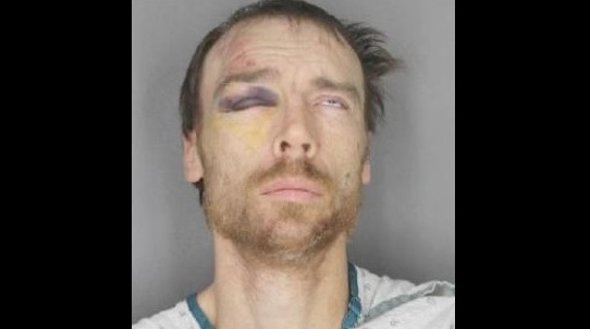 Stephan Cooke, 41, of Buffalo, is charged with robbing a bank, stealing an SUV and fleeing police. (Photo courtesy Erie County Sheriff's Office)
