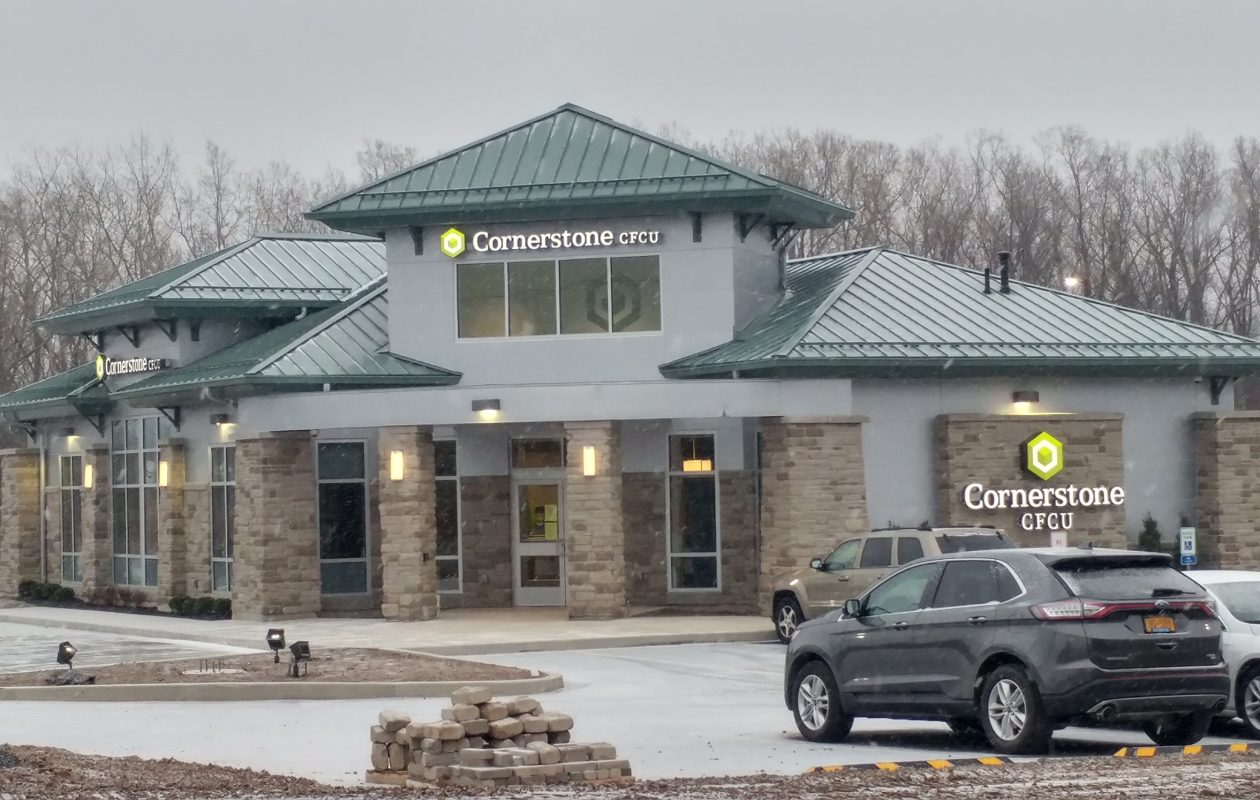 Cornerstone Community Federal Credit Union's new branch in the Town of Niagara is open. (Provided photo)