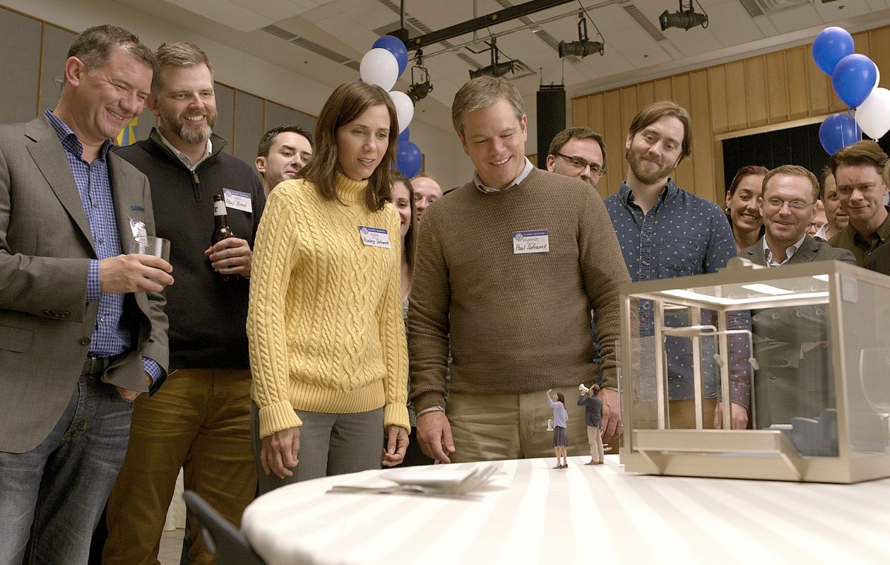 Kristen Wiig and Matt Damon star in 'Downsizing.' (Paramount Pictures)