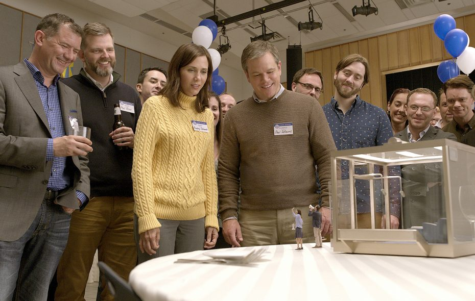 "Kristen Wiig and Matt Damon star in ""Downsizing."" (Paramount Pictures)"