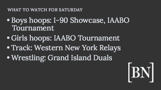 Homeroom Announcements: Saturday's big games & more