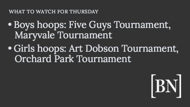 Homeroom Announcements: Thursday's big games & more