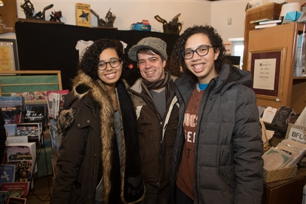 Smiles at WNY Book Arts Center's Last-Minute Panic Sale