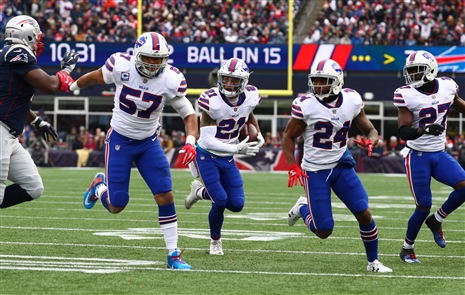 Bills get the short end of officiating decision, but that's not why they lost