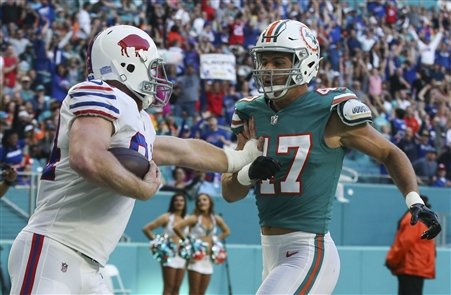 Nervous fans watch Bills game with bated breath Sunday