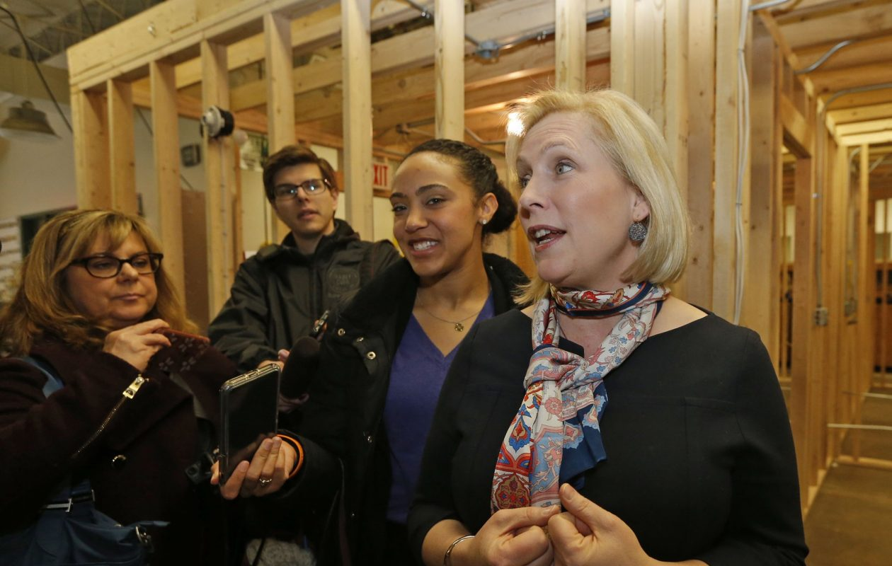 U.S. Sen. Kirsten Gillibrand. (Robert Kirkham/News file photo)