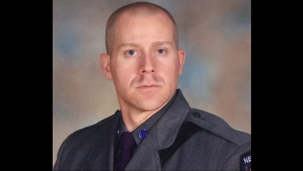 State Trooper Joseph J. Gallagher, who is from West Seneca, was seriously injured Monday when he was struck by a vehicle on Long Island while on duty. (State Police)