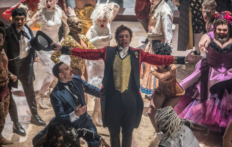 "Hugh Jackman stars as circus co-founder P.T. Barnum in ""The Greatest Showman."" (Niko Tavernise/Twentieth Century Fox)"