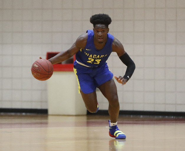 LaTerrance Reed is making a big impression at NCCC (Mark Mulville/Buffalo News)