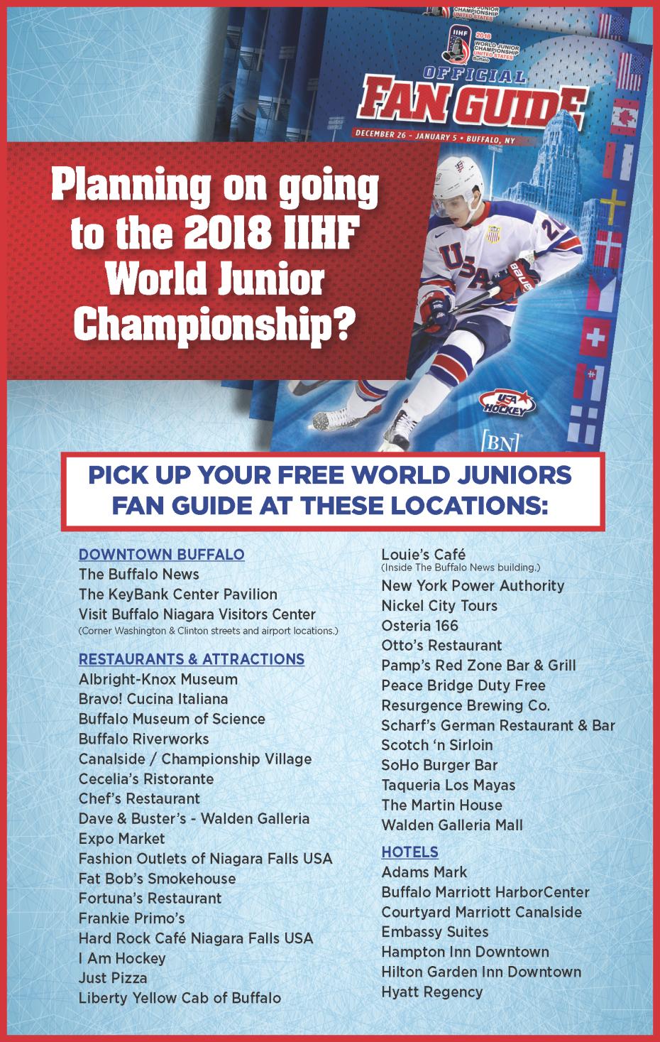 2018 World Junior Championship Buffalo The Buffalo News