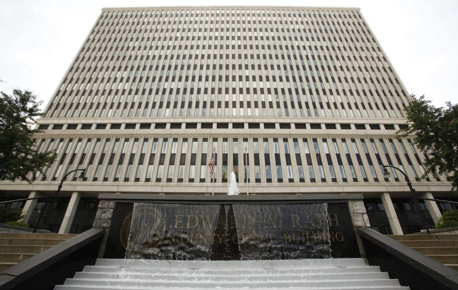 The Erie County Rath Building, where County Executive Mark C. Poloncarz put together his budget proposal. (Derek Gee/News file photo)
