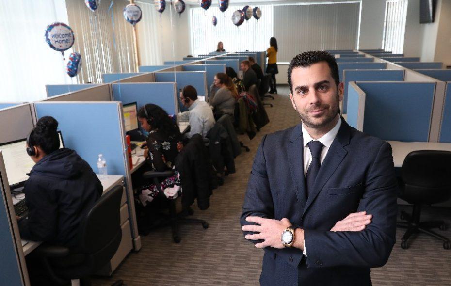 Ryan Sasson, CEO of Strategic Financial Solutions (Sharon Cantillon/Buffalo News)