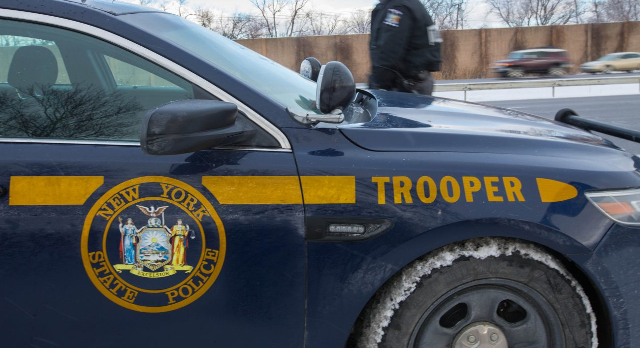 Semi strikes car stopped on Thruway after accident, killing 20