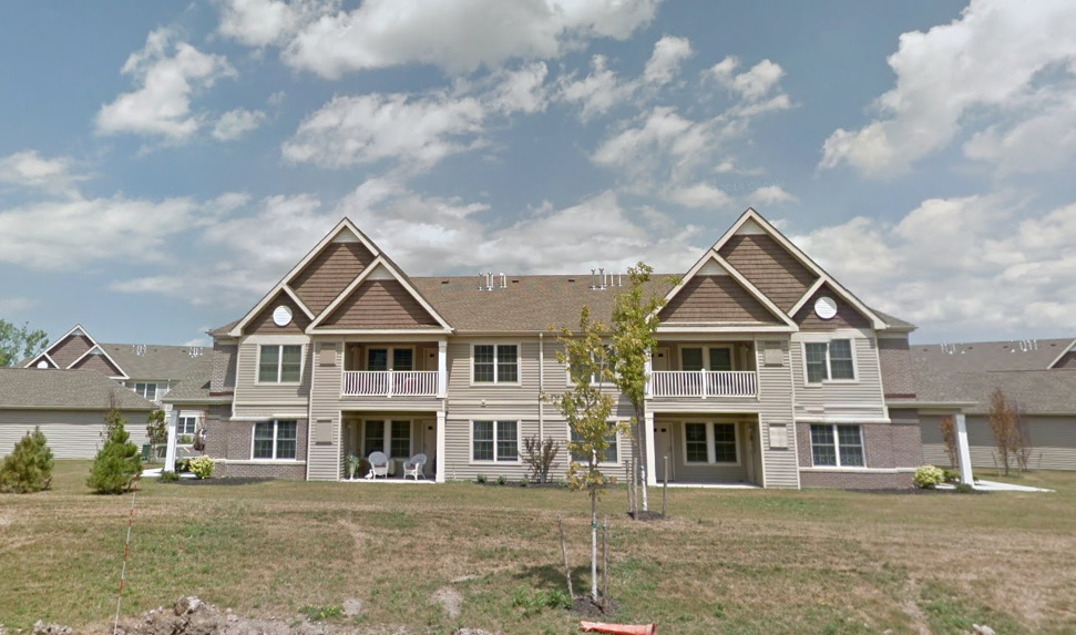 The Strathmore Apartments on Chestnut Ridge Road in Amherst. (Google Maps)