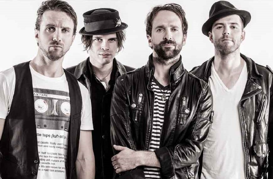 The Trews perform at the Town Ballroom.