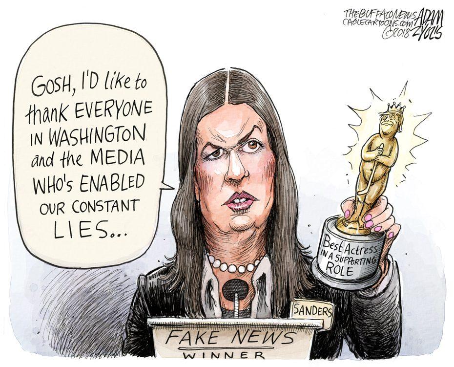 Fake News Awards: January 18, 2018
