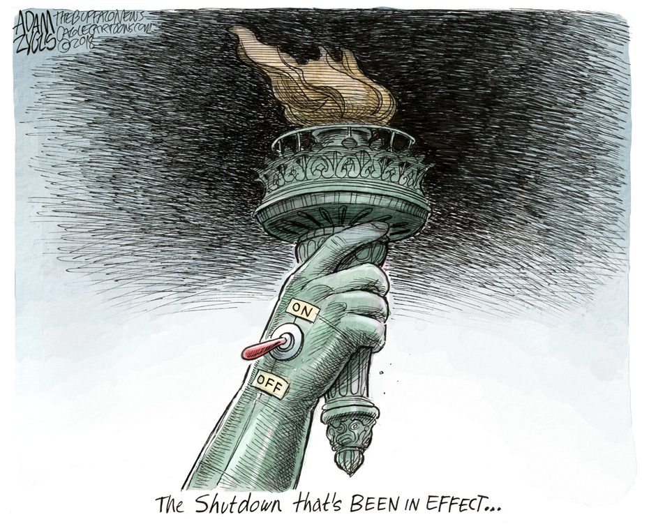 Shutdown: January 21, 2018