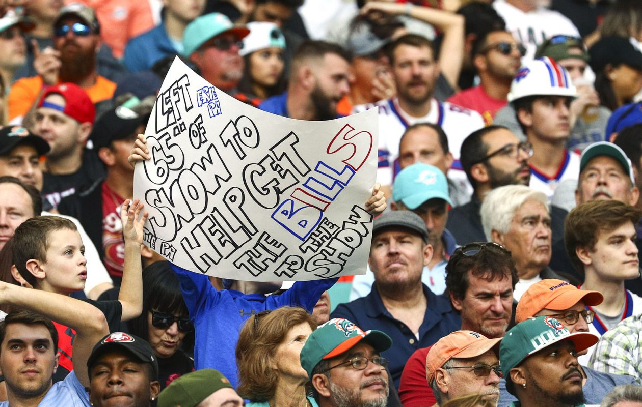 Sunday was a happy day for Bills fans and their team. (James P. McCoy/News file photo)